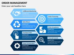 Order Management PPT slide 1