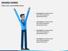 Raising Hands PPT Slide 8