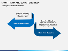 Short Term and Long Term Plan PPT Slide 12