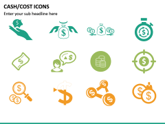 Cash Cost Icons PPT Slide 17