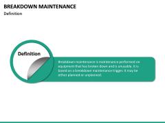 Breakdown Maintenance PPT Slide 18