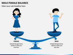 Male Female Balance PPT Slide 3