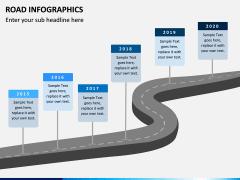 Road Infographics PPT Slide 6