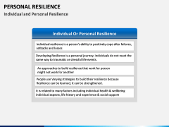 Personal Resilience PPT Slide 20