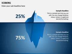 Iceberg PPT slide 9