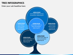 Tree Infographics PPT Slide 17