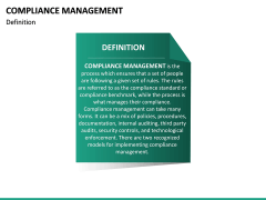 Compliance Management PPT Slide 21