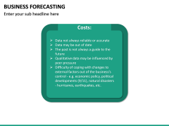 Business Forecasting PPT Slide 24