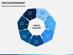 Circular Roadmap PPT Slide 5