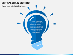 Criticial Chain Method PPT Slide 2