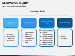 Information Quality PPT Slide 2