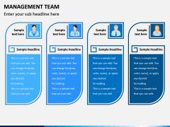 Management Team PPT Slide 2