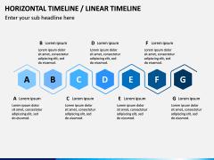 Horizontal Timeline PPT Slide 8