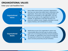 Organizational Values PPT Slide 5