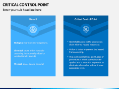 Critical Control Point PPT Slide 11