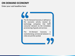 On Demand Economy PPT slide 3
