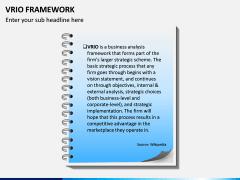 VRIO Framework PPT Slide 1