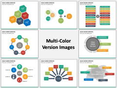 Value added services multicolor combined