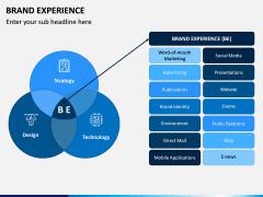 Brand Experience PPT Slide 1