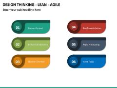 Design Thinking - Lean - Agile PPT Slide 18