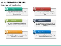 Qualities of Leadership PPT Slide 24