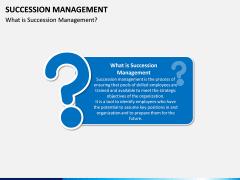 Succession Management PPT Slide 1