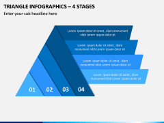 Triangle Infographics – 4 Stages PPT Slide 1
