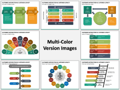 Customer Satisfaction and Customer Loyalty Multicolor Combined