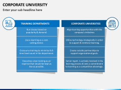 Corporate University PPT Slide 12