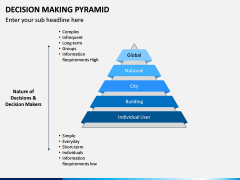 Decision Making Pyramid PPT Slide 5