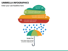 Umbrella Infographics PPT Slide 23
