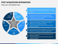 Post Acquisition Integration PPT Slide 7