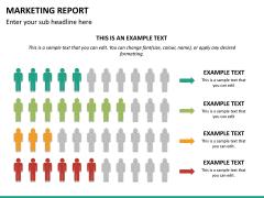 Marketing report PPT slide 21