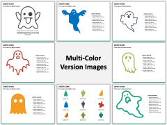 Ghost Icons PPT Slide MC Combined