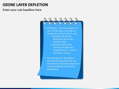 Ozone Layer Depletion PPT Slide 3