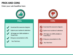Pros and Cons PPT Slide 32