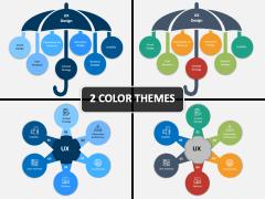 UX/UI Design Strategy PPT Cover Slide