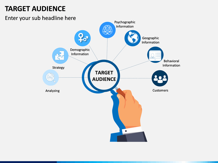 Target Audience Powerpoint Template Sketchbubble