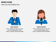 News Icons PPT Slide 2