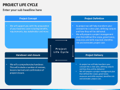 Project life cycle PPT slide 5