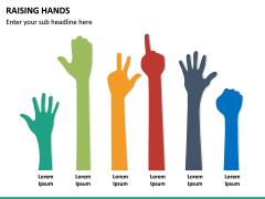 Raising Hands PPT Slide 19