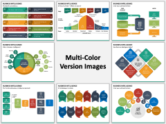 Business Intelligence Multicolor Combined