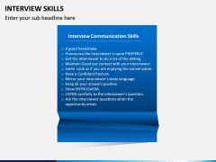 Interview Skills PPT Slide 5