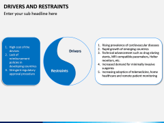 Drivers and Restraints PPT Slide 9
