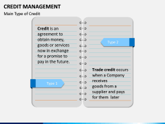 Credit Management PPT slide 3