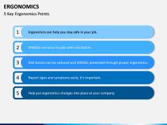 Ergonomics PPT Slide 6