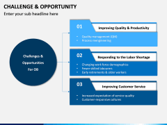 Challenge and Opportunity PPT Slide 3