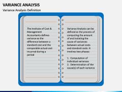 Variance Analysis PPT Slide 1