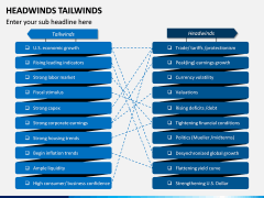 Headwinds Tailwinds PPT Slide 2