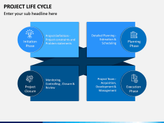 Project life cycle PPT slide 23